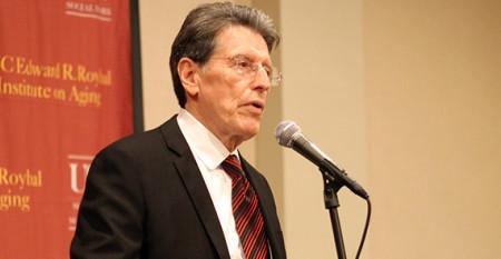 Vega speaks at 2012 ICAA