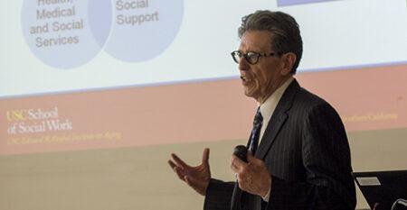 William Vega speaks about healthy aging initiative