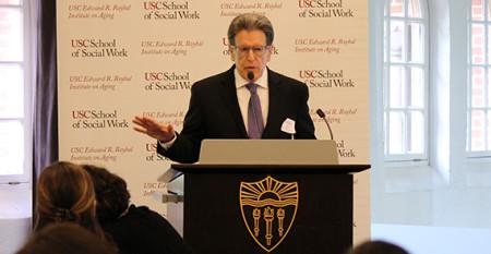 William Vega speaking