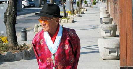 older Korean man