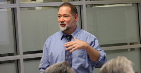 Rick Settersten speaks
