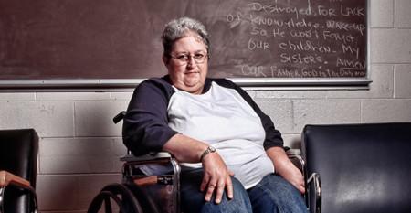 older woman prisoner