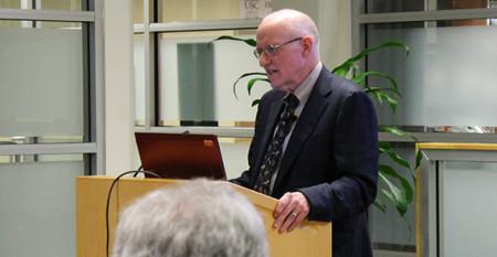 James Lubben speaks at USC School of Social Work