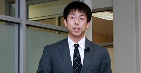 Takashi Yamashita speaks at USC