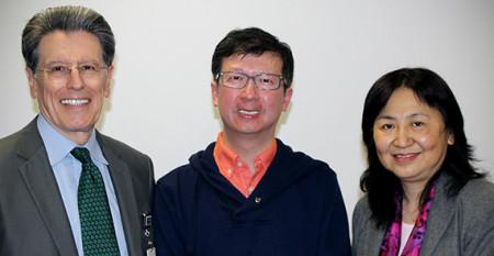 William Vega, Daniel Lai and Iris Chi