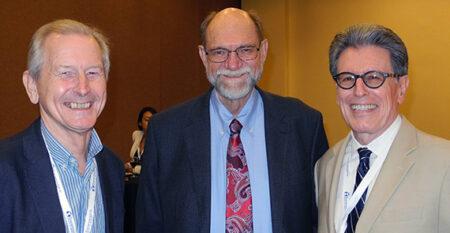 Vern Bengtson honored at Roybal GSA reception