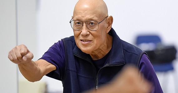 older Asian man empowered
