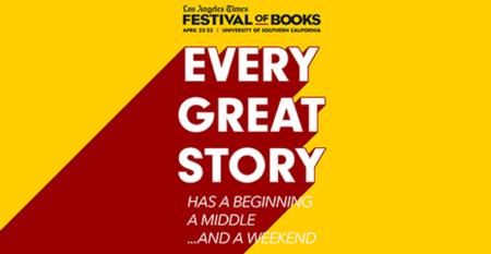 LA Times Festival of Books 2017 campaign ad
