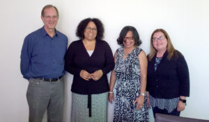 Jamiko Bell with her doctoral committee