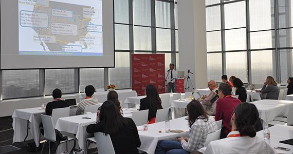 Hector Gonzalez speaking at 2017 ICAA.