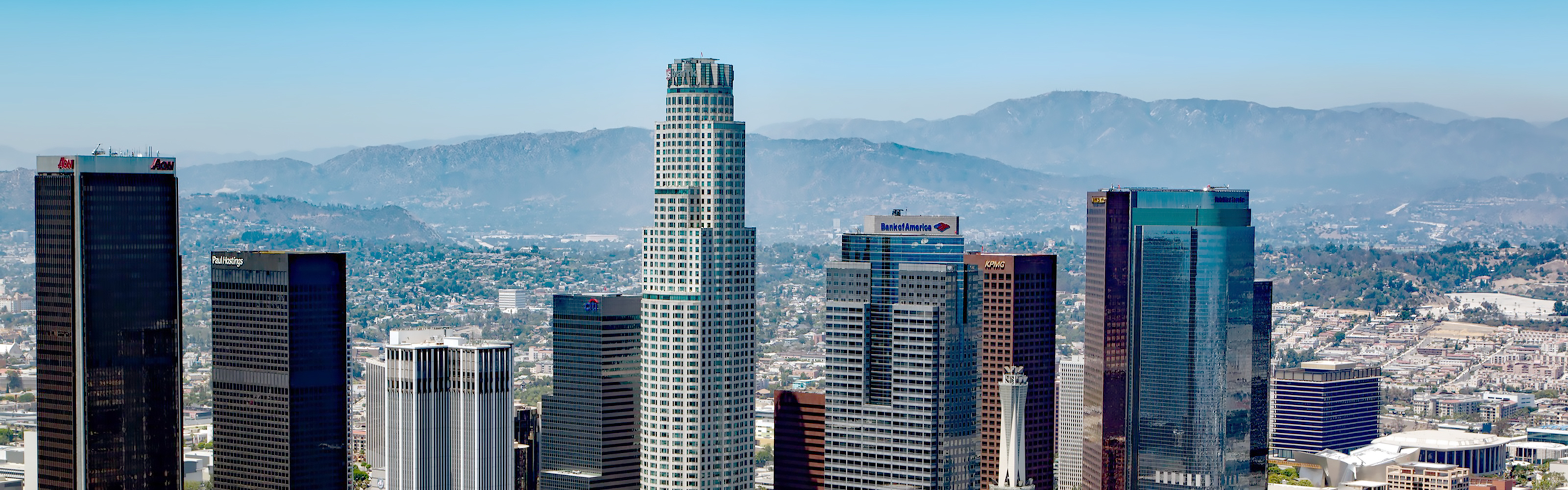 Downtown Los Angeles Skyline - slider image