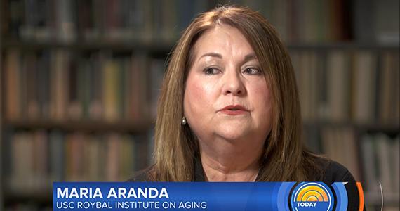 Maria Aranda speaks on NBC's The Today Show