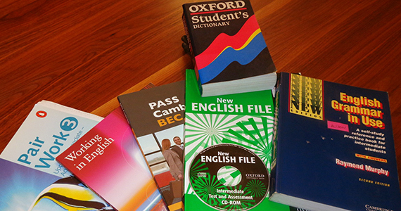 English language learning books