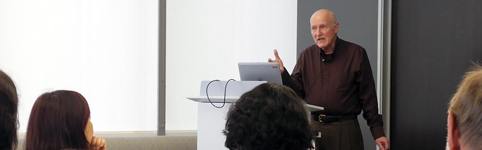James Lubben speaks to USC audience