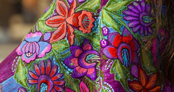 Mexican Dress – Zinacantan Chiapas Mexico
